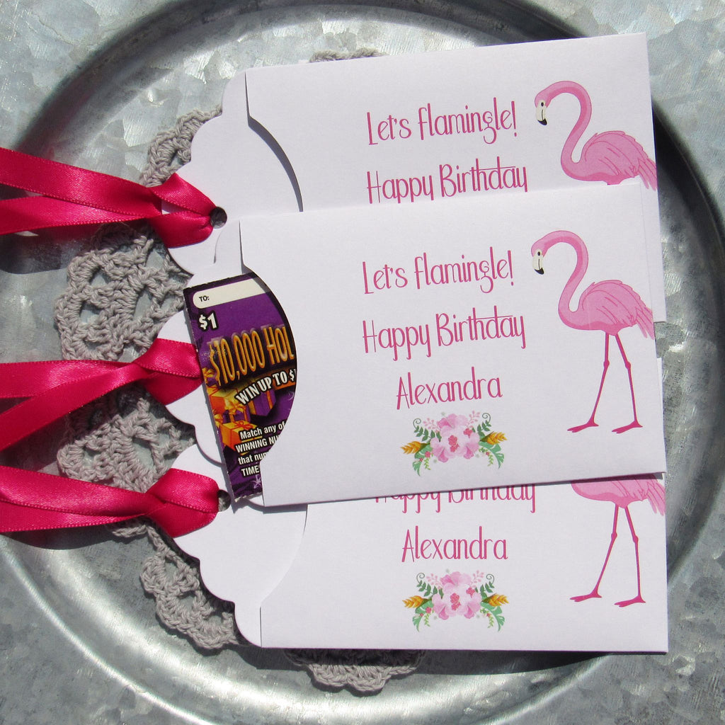 Flamingo Favors – Abbey and Izzie Designs