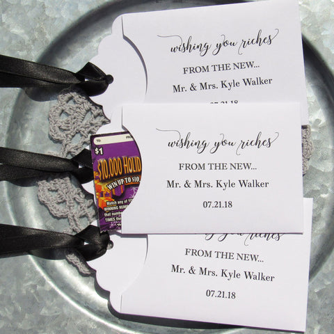 Wedding Lottery Favors