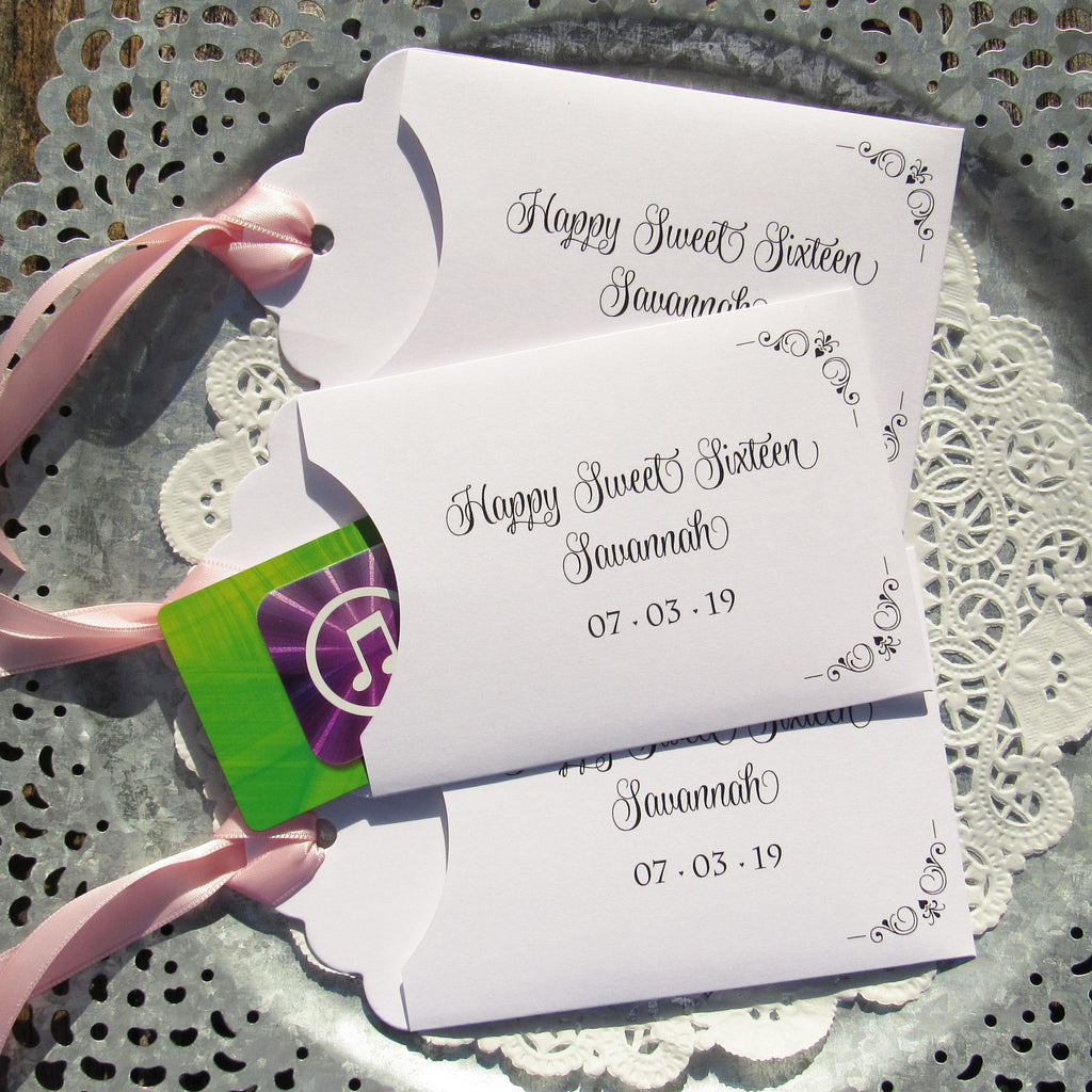 Sweet 16 Party Favors – Abbey and Izzie Designs