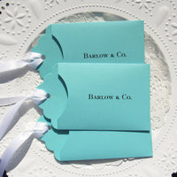 Aqua Blue Favors