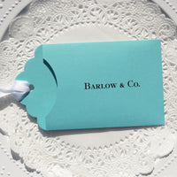 Our Tiffany Blue Party Favors are personalized for any occasion.