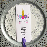 Unicorn Candy Bar Favors
