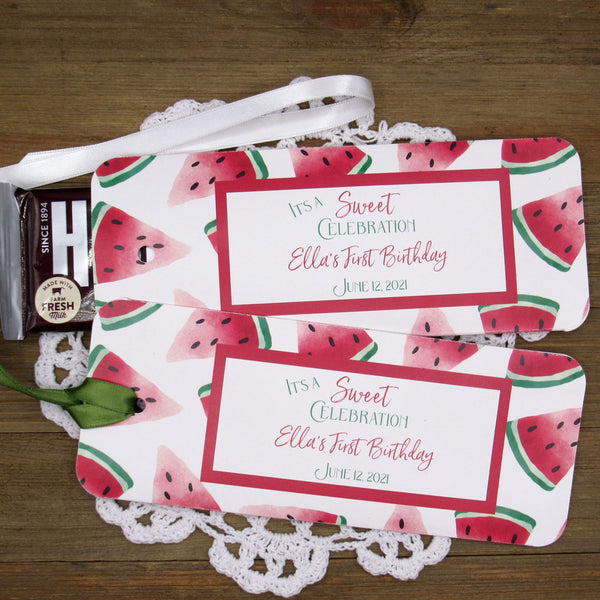Watermelon Party Favors
