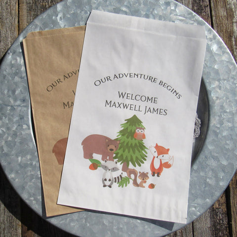 Wildlife Baby Shower Bags