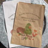 Wildlife Birthday Favor Bags