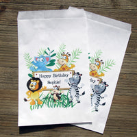 Zoo Birthday Party Favor Bags