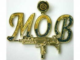 "Custom ""MOB"" Pendant *Call for pricing."