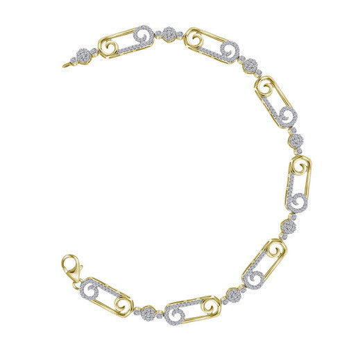 3/4CTW-DIA FASHION BRACELET
