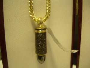 Custom Bullet Pendant 9mm
