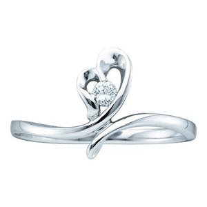 14k 1/20CT-DIA PROMISE RING