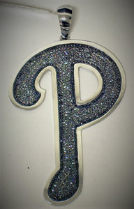 "Custom ""P"" Pendant *Call for pricing."