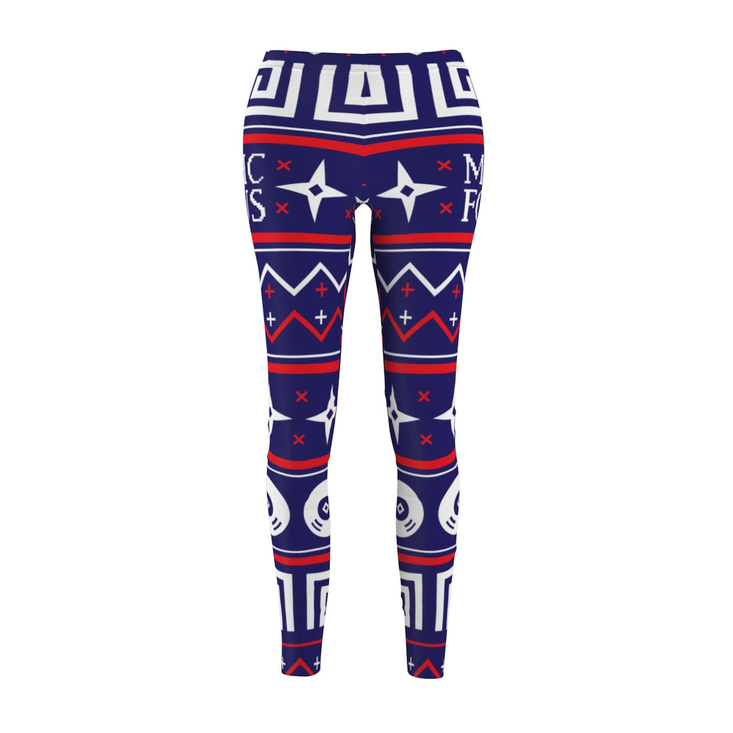 The 'Manic Focus Christmas' Leggings