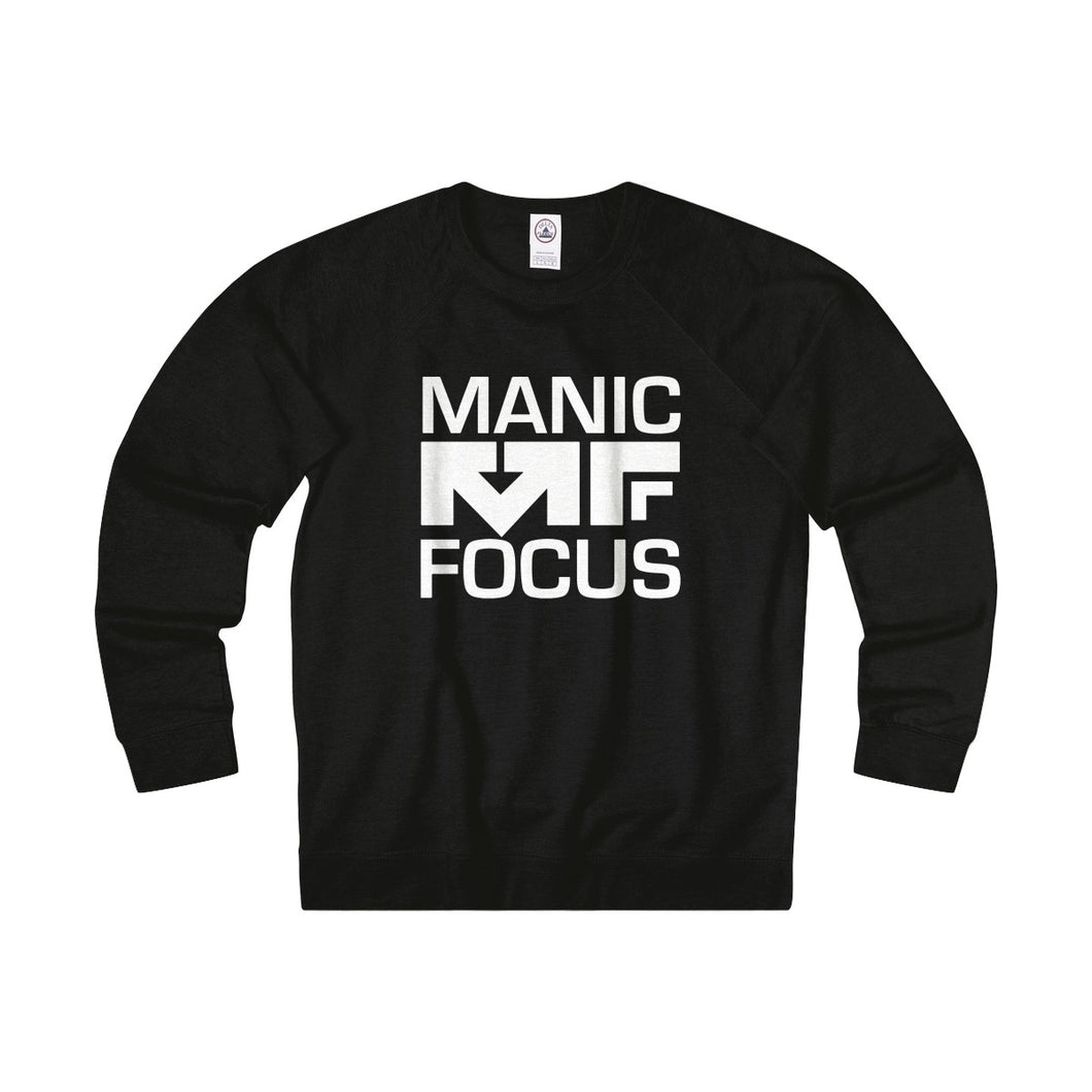 The Block Logo 'French Terry Crewneck' In Black