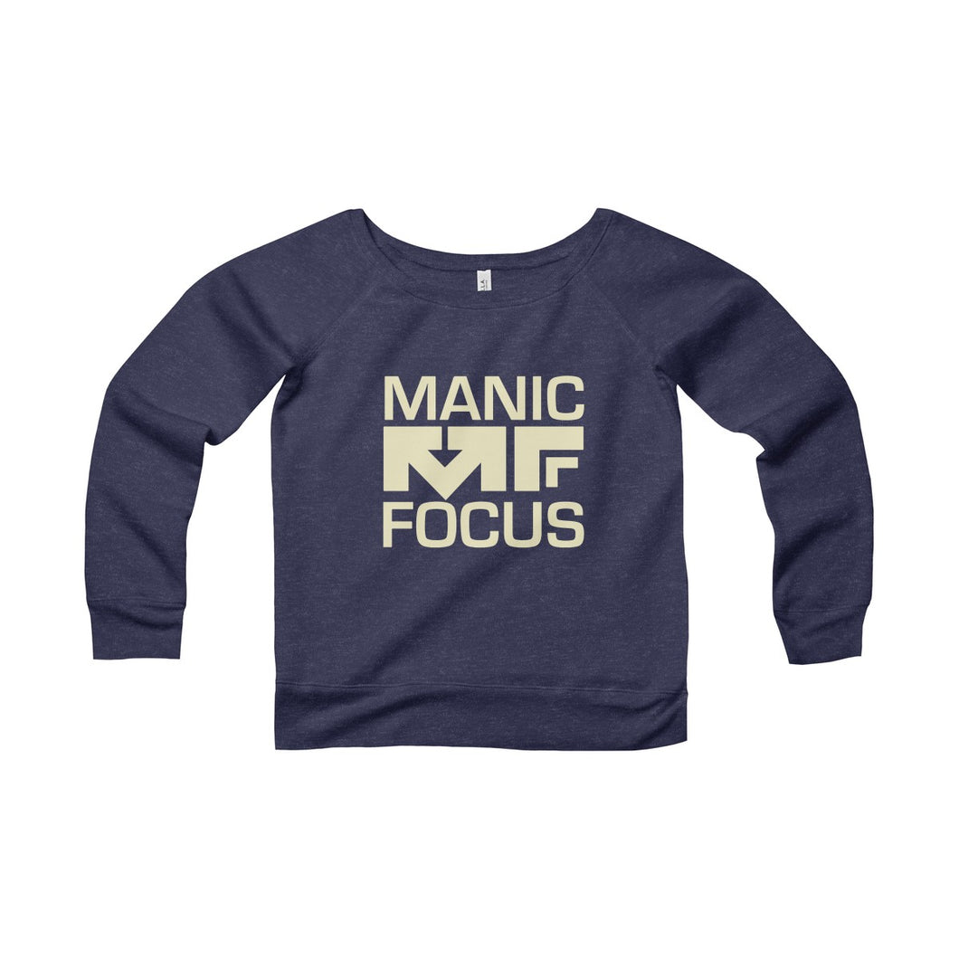 The Block Logo 'Sponge Fleece Crewneck' In Navy