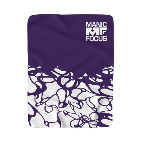 The Purple Daze Sherpa Blanket
