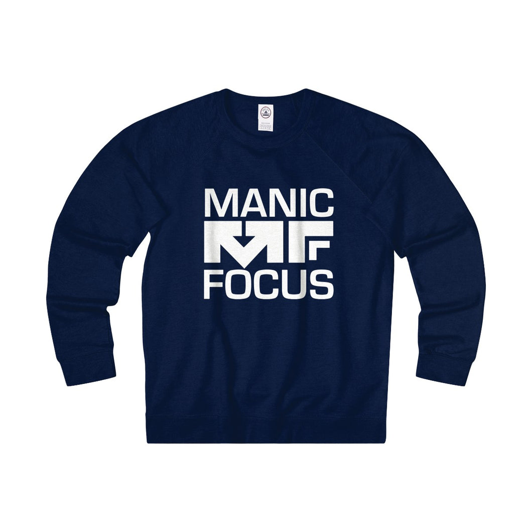 The Block Logo 'French Terry Crewneck' In Navy