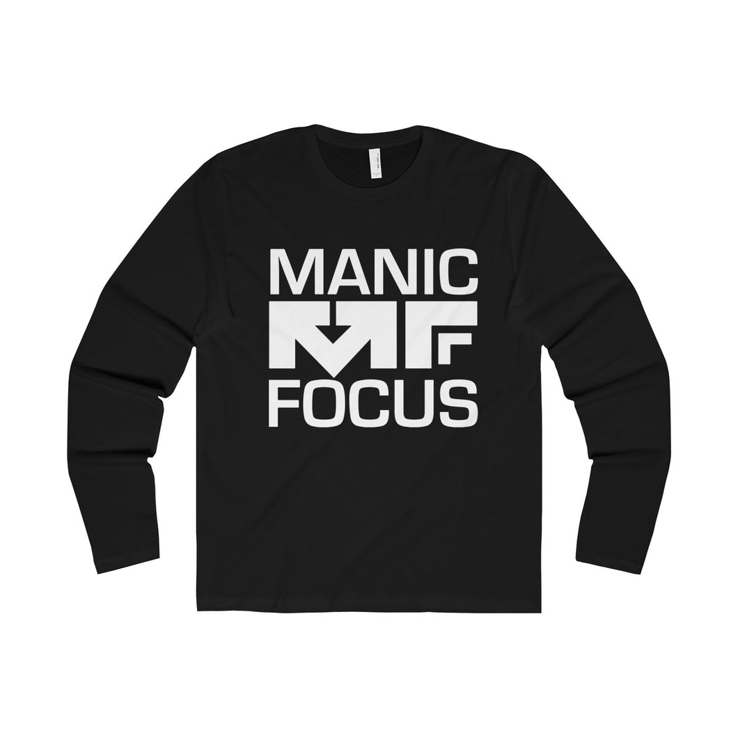 The Block Logo 'Premium Long Sleeve Tee' In Black