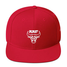 The '312' Snapback In Red/White