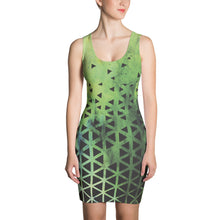 The Origami Sublimated Dress
