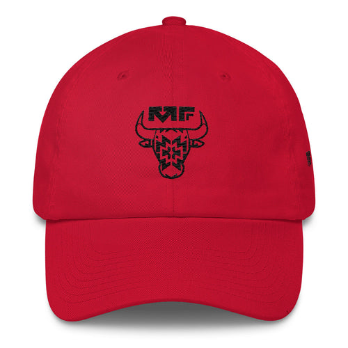 The '312' Dad Hat In Red