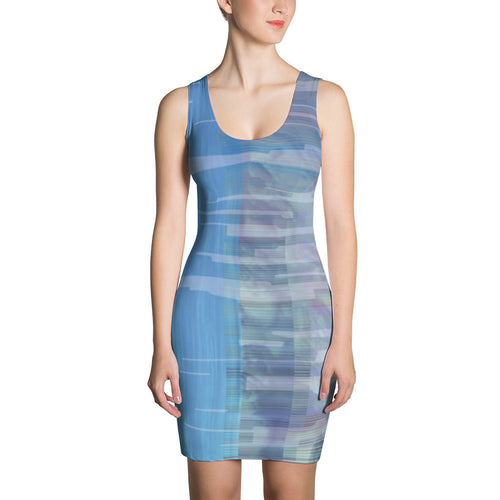 The Glitch Print Sublimated Dress