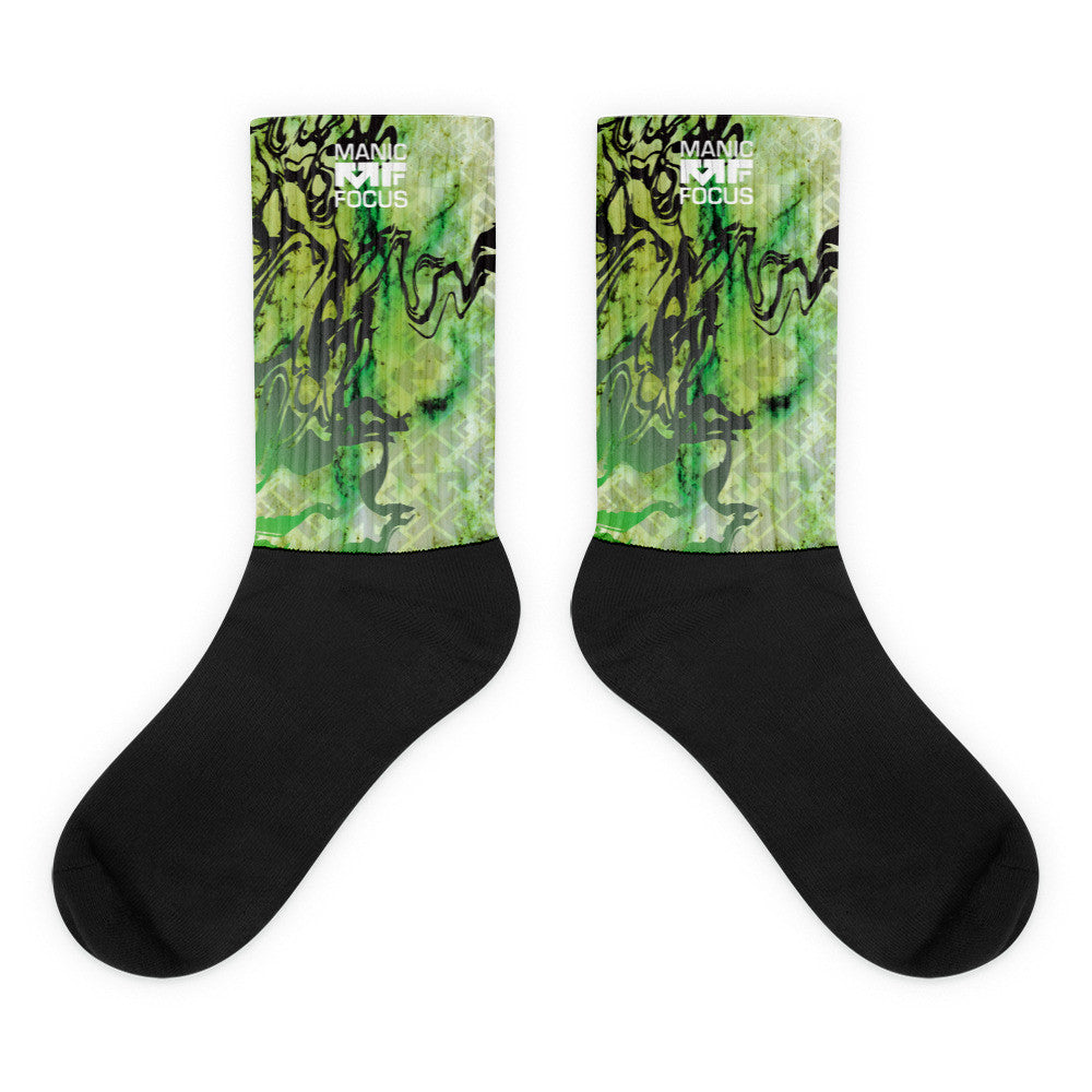 The Smokescreen Print Sock