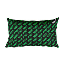 The Repeat Pillow in Green/Black