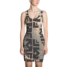 The Matrix Print Sublimated Dress