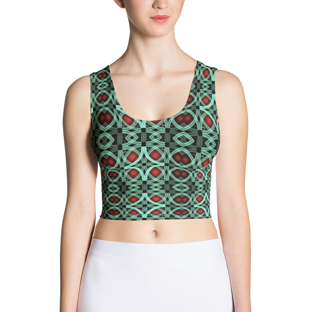 The Voodoo Sublimated Crop Top