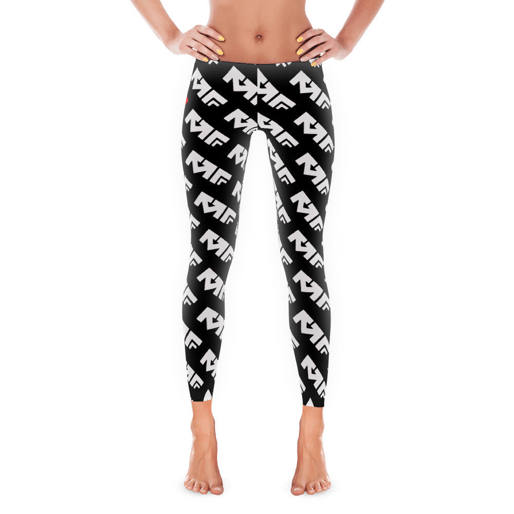 The Repeat Sublimated Leggings In Black/White