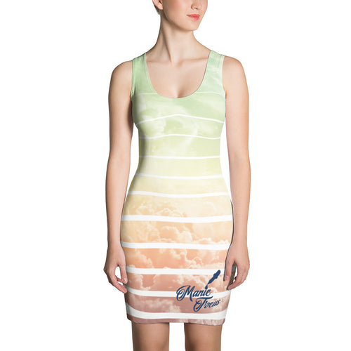 The 'Hyper Clouds' Sublimated Dress