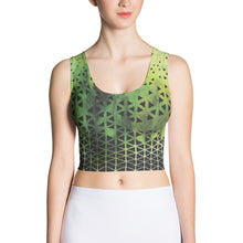 The Origami Sublimated Crop Top