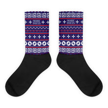 The 'Manic Focus Christmas' Socks