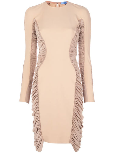 Nude Knit Trap Dress
