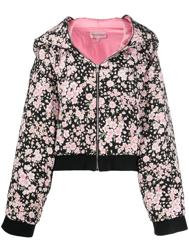 Ears on Hood Floral Jacket