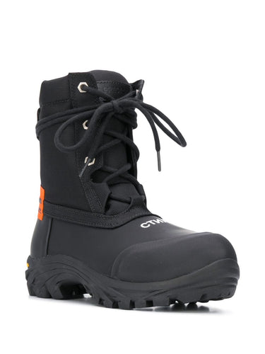 Black Logo Security Boot