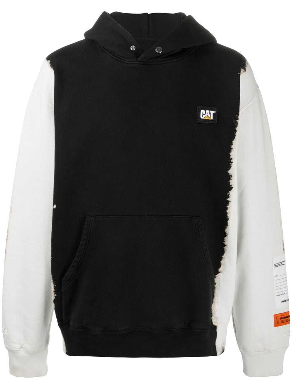 Black/ White CAT Phantom Hoodie