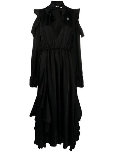 Black Romantic Long Dress