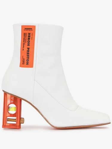 White/Orange Security Boot