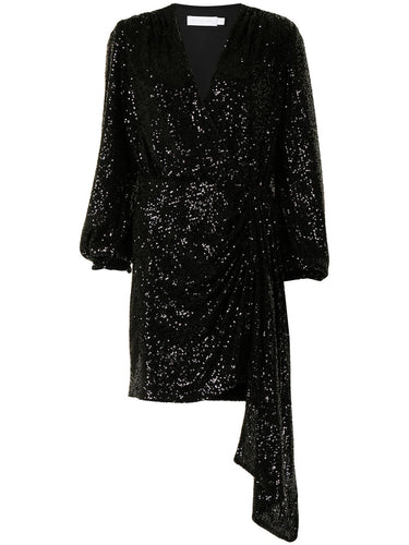 Black Sequin Roxi Dress