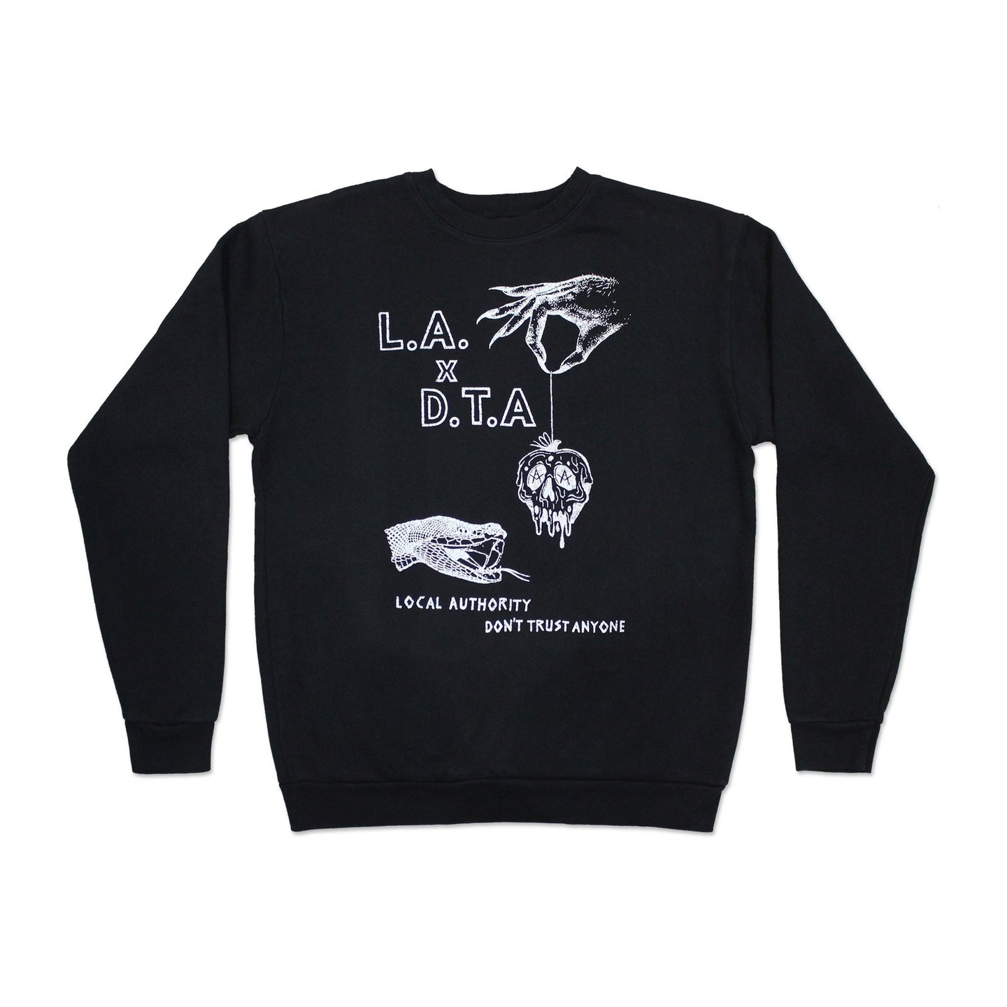 Black Temptation Crewneck Sweatshirt