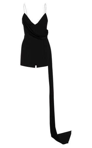 Black Crepe Eliode Playsuit