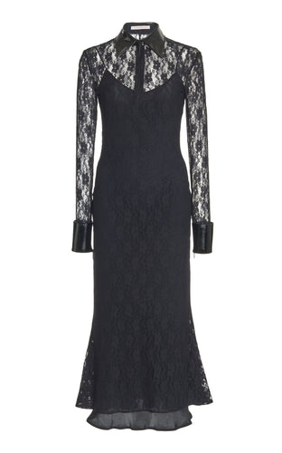 Black Lace Bell Dress