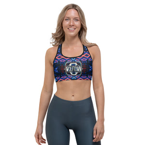 WOLFTOWN 'UNCHAINED' (Sports Bra)