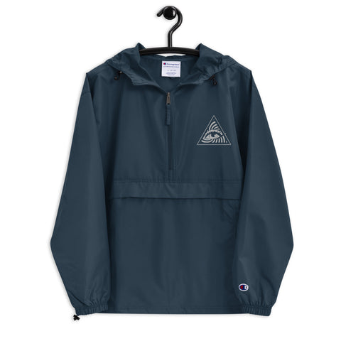 KAIZEN (Embroidered Champion Packable Jacket)