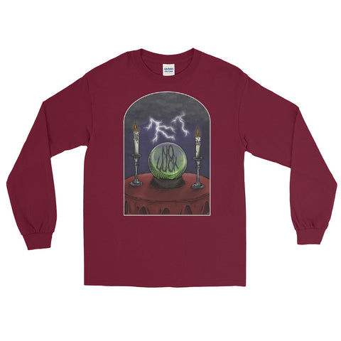 NO LUCK 'CRYSTAL VISIONS' (Men's Long Sleeve Shirt)