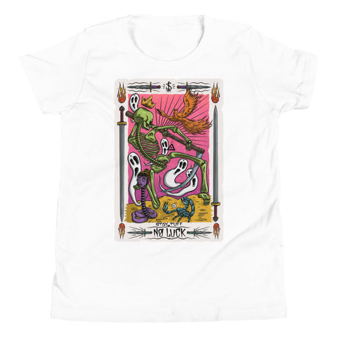 NO LUCK 'TAROT CARD' (Youth T-Shirt)