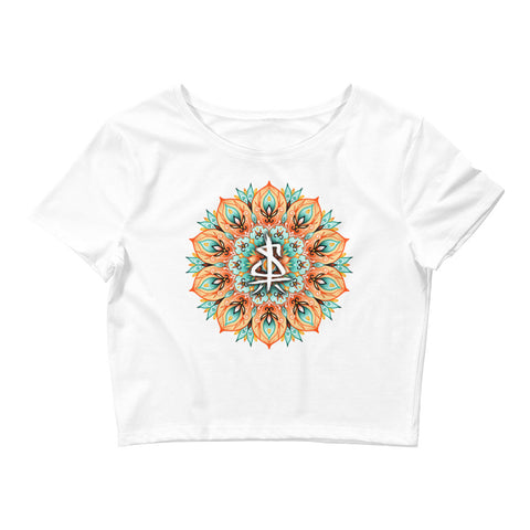 MANDALA (Women's Crop T-Shirt)
