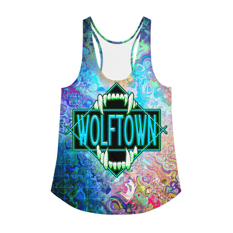 WOLFTOWN 'SWITCH IT' (Women's All-Over Print Tank Top)