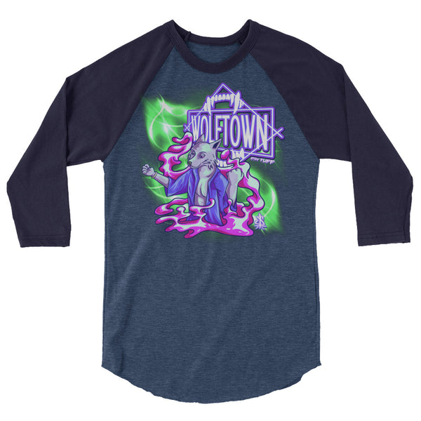 WOLFTOWN 'NEW MOON' (3/4 Sleeve Raglan T-Shirt)